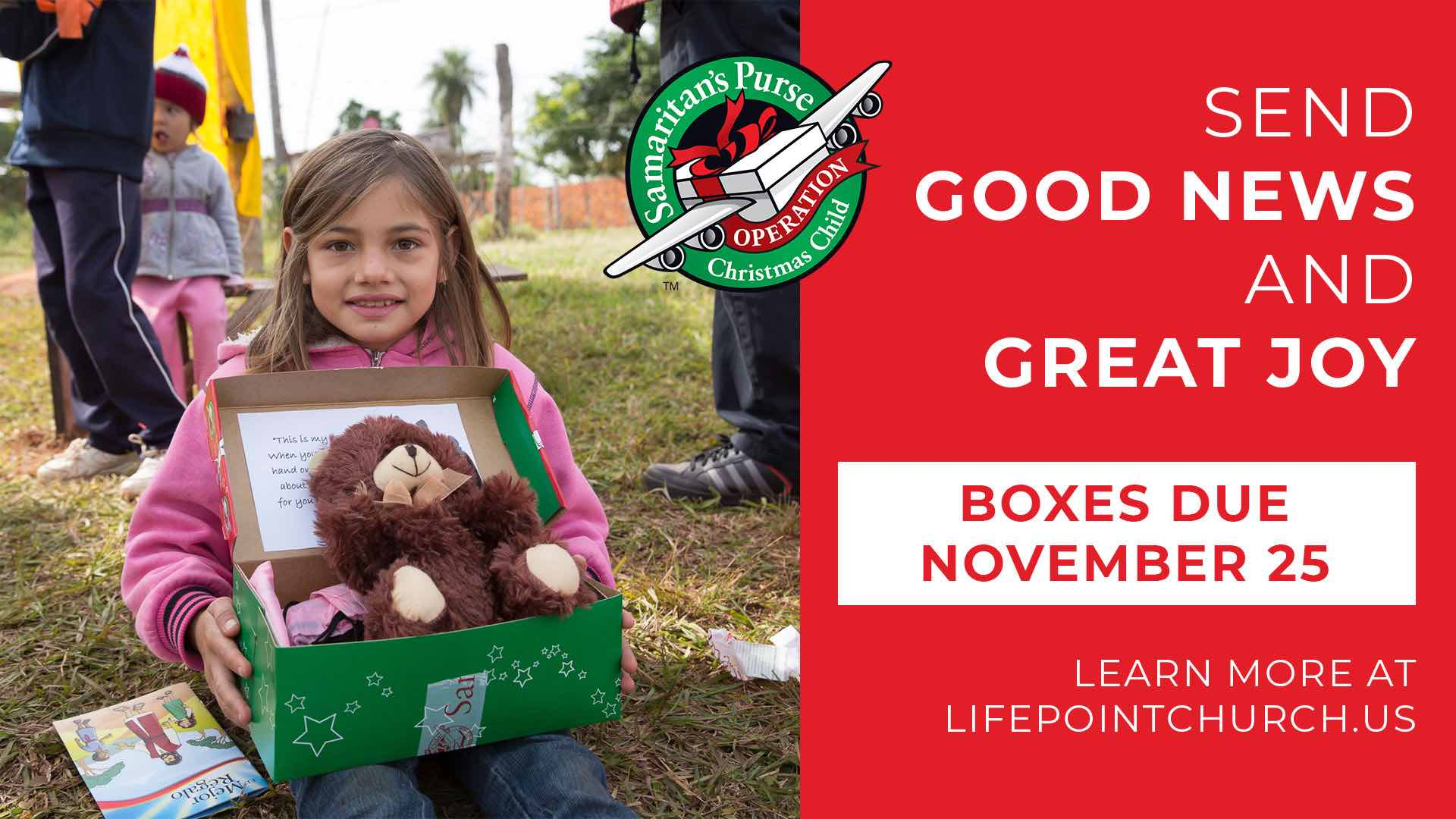 Christmas Operation Child.Operation Christmas Child Shoeboxes Due Lifepoint Church