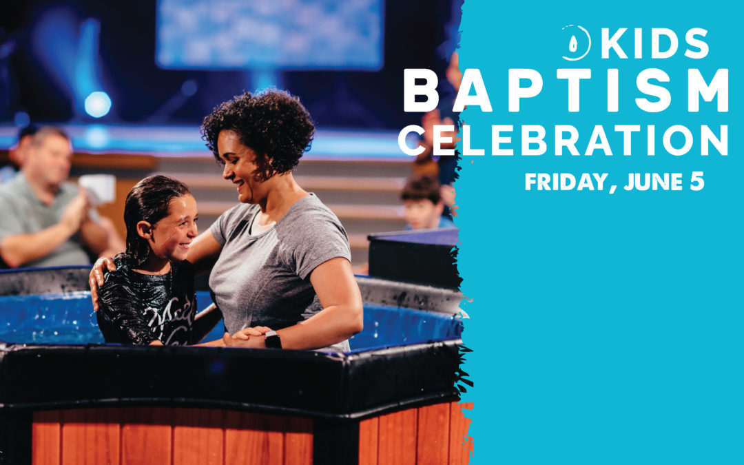 Kids Baptism Celebration