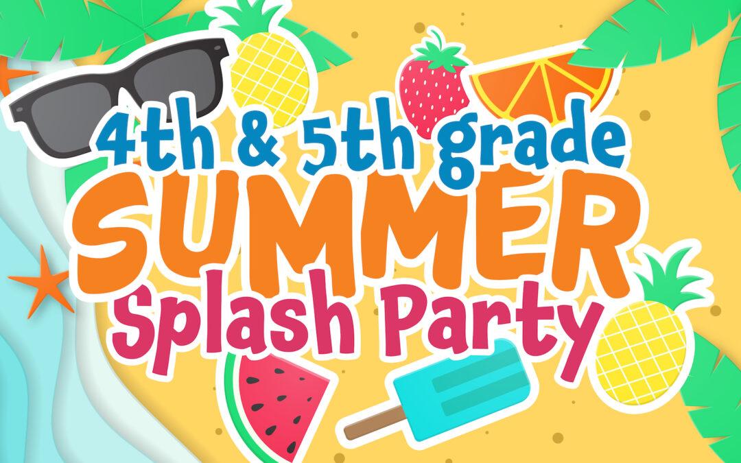 Summer Splash 2021