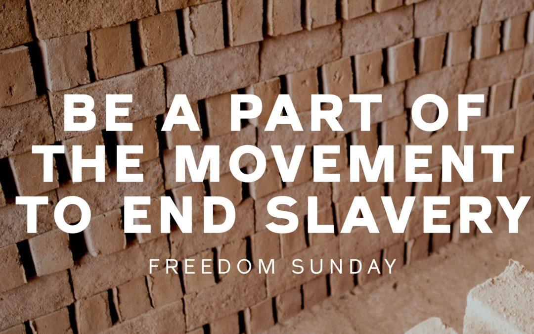 Freedom Sunday/International Justice Mission (IJM)