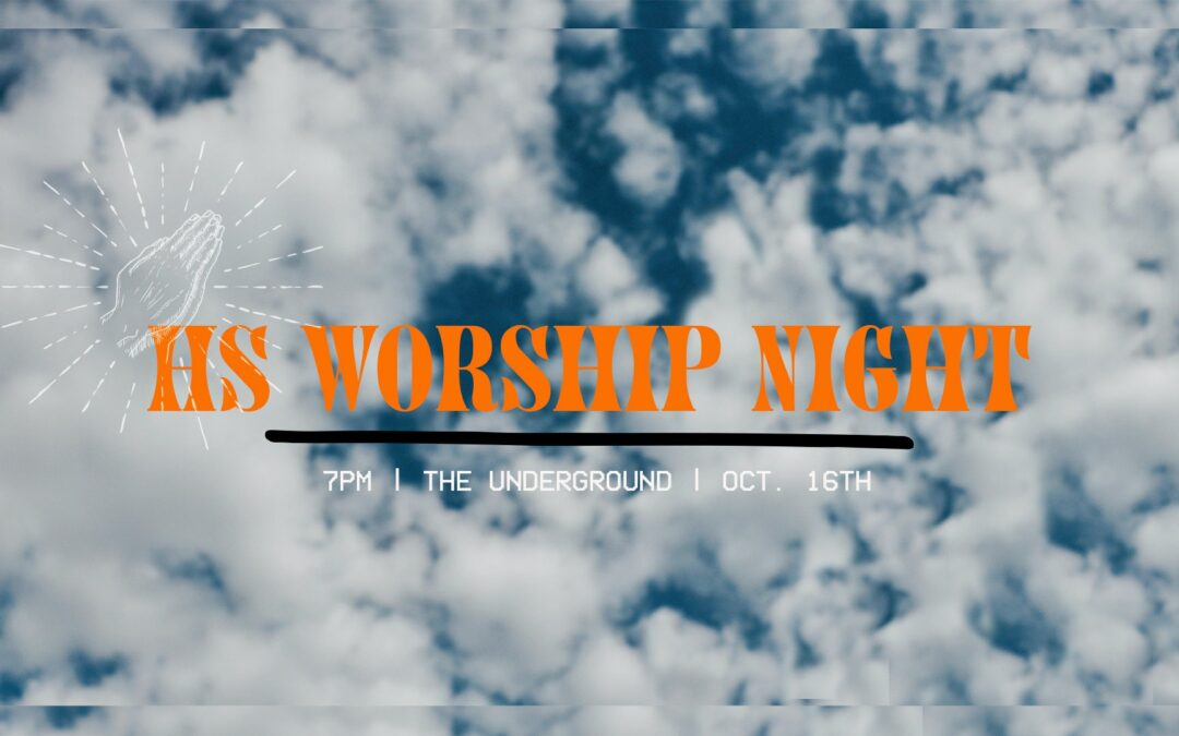 High School Worship Night