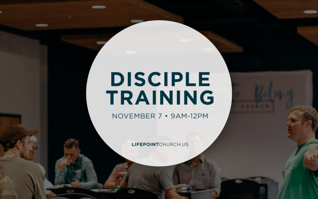 Disciple-Maker Training