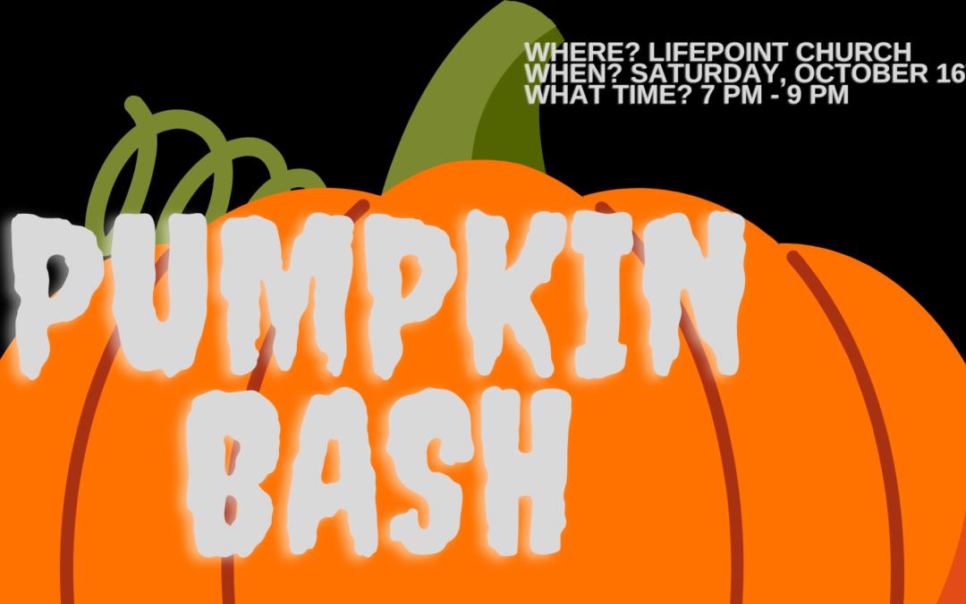 High School Pumpkin Bash 2021