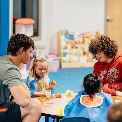 Two-service Kid Teacher
