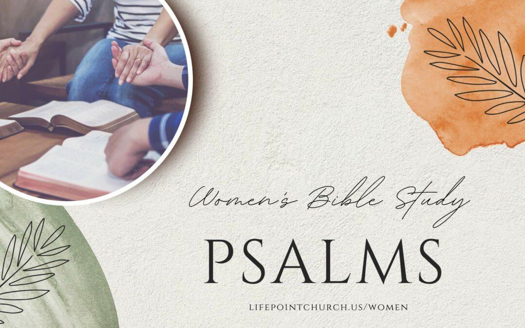 Women's Bible Study – Psalms